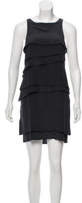 Vena Cava Silk Ruffled Mini Dress w/ Tags