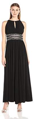 R&M Richards Women's Gown with Beaded Waist and Keyhole Front $119 thestylecure.com