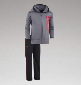 "Under Armour UA Boys Roster Hoodie Track Set â"" Infant"