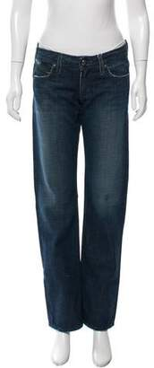 Habitual Distressed Straight-Leg Jeans w/ Tags