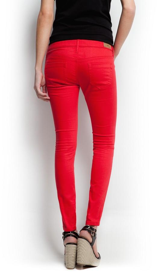 MANGO Super slim trousers