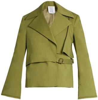 Rosie Assoulin Yipee Ki-Yay cotton-blend twill jacket