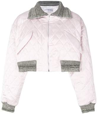 Walk Of Shame cropped quilted jacket