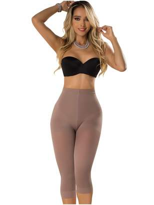 66fb34bfd599d Rose 21993 Butt Lifter Capri Shapewear for Women