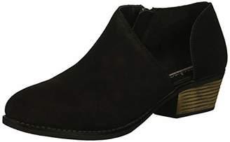Skechers Women's Lasso-VACINITY-Short Asymmetrical Bootie Ankle Boot