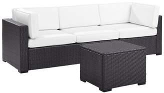 Crosley Biscayne 3-Piece Outdoor Wicker Seating Set