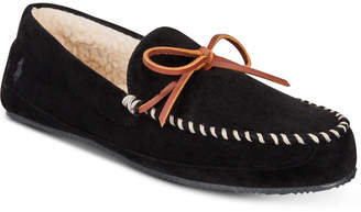 Polo Ralph Lauren Men's Markel Micro-Suede Moccasin Slippers