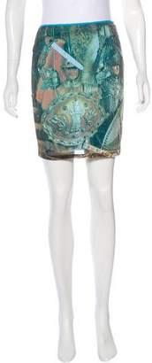 Dolce & Gabbana Digital Print Mini Skirt
