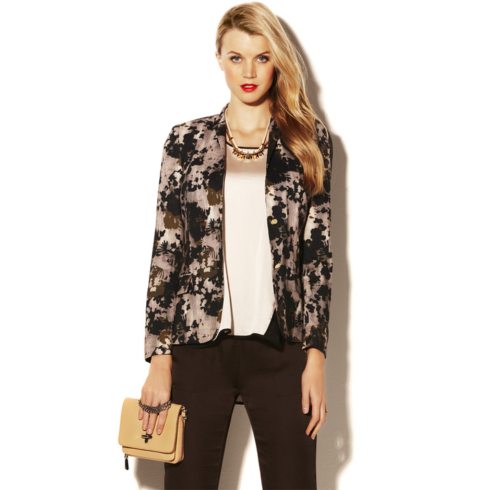 Vince Camuto Camouflage Blazer