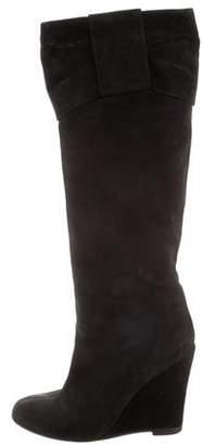 Valentino Wedge Knee-High Boots