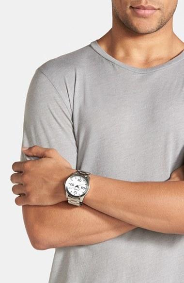 Men's Nixon 'The Corporal' Bracelet Watch, 48Mm 3