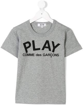 Comme des Garcons Kids printed logo T-shirt