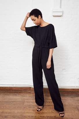 French Connenction Patras Crepe Jumpsuit