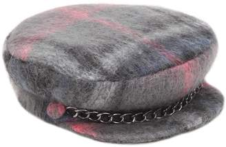 Eugenia Kim Marina Plaid Wool & Mohair Blend Hat
