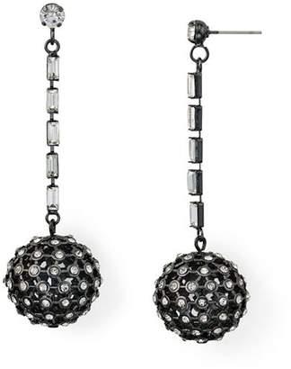 Aqua Crystal Ball Drop Earrings - 100% Exclusive