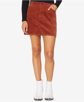 Sanctuary Ryan Corduroy Mini Skirt