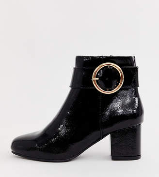 db3f0e1dd92 Patent Block Heel Boot - ShopStyle