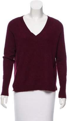White + Warren Long Sleeve V-Neck Sweater