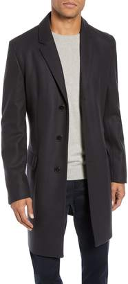 HUGO Migor2 Slim Fit Wool Overcoat