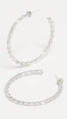 Theia Jewelry Hestia Inside Out Hoop Earrings