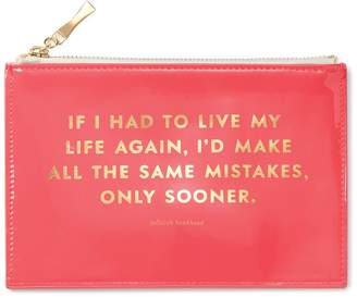 Kate Spade Same Mistakes Pencil Pouch 6-Piece Set