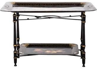 Bergdorf Goodman Tole Removable Tray Table