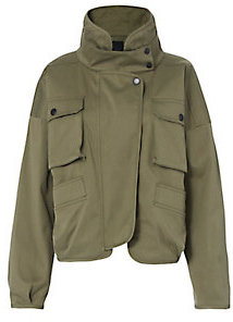 Olive Piper Canvas Jacket