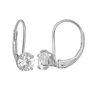 Swarovski Renaissance Collection 10k White Gold 1-ct. T.W. Cubic Zirconia Drop Earrings - Made with Zirconia