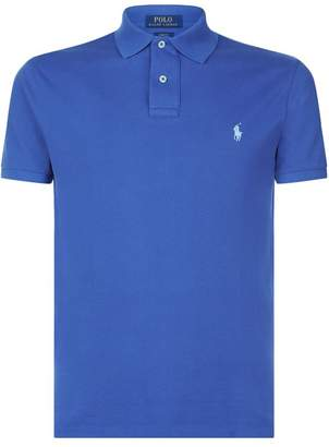 Polo Ralph Lauren Weathered Slim Fit Polo Shirt