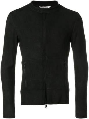 Giorgio Brato biker style fitted jacket