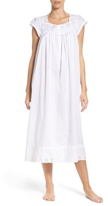 Women's Eileen West Cotton Lawn Nightgown $64 thestylecure.com