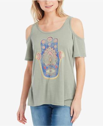 Jessica Simpson Nova Cold-Shoulder T-Shirt