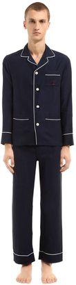 Cotton & Cashmere Flannel Pajamas $550 thestylecure.com