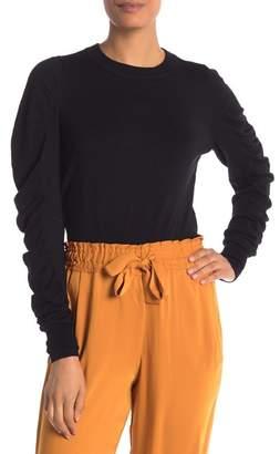 Vero Moda Gathered Sleeve Knit Sweater