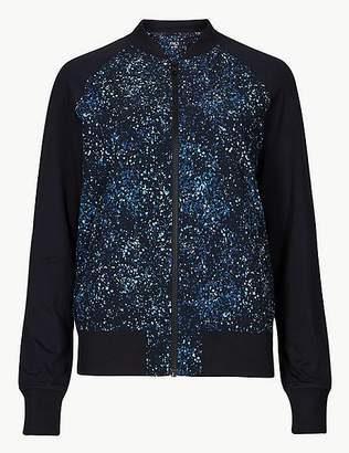 Marks and Spencer Printed Bomber Jacket