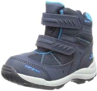 Viking Boys Toasty GTX Outdoor Fitness Shoes Blue Blau (535) Size: (4.5 Kinder UK)