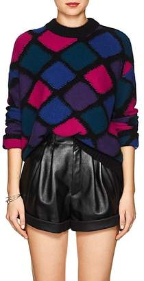 Marc Jacobs Women's Geometric-Pattern Cashmere-Blend Sweater