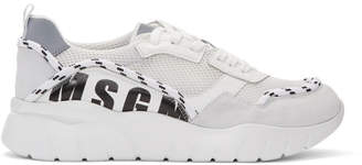 MSGM White Running Sneakers