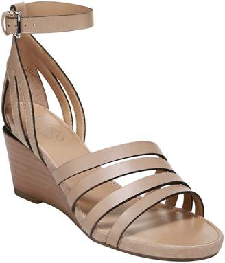 85caf606a5d Franco Sarto Leather Platform Wedges - Della