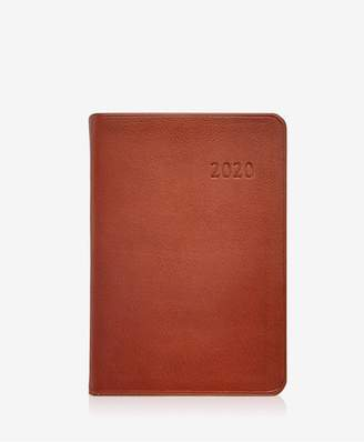 GiGi New York 2020 Daily Journal In Maple Traditional Leather