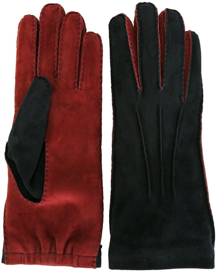 Marni Marni two-tone gloves