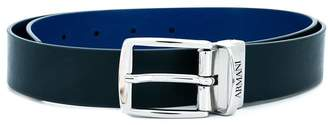 Emporio Armani Kids classic buckle belt