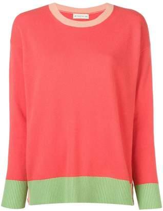 Etro bicoloured knit sweater