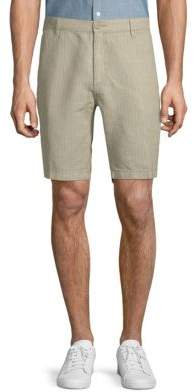 Saks Fifth Avenue Striped Linen Shorts