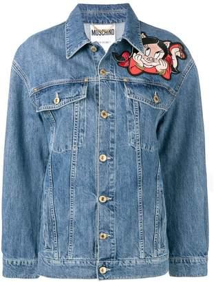 Moschino Porky Pig and Petunia jacket