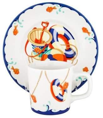 Tiffany & Co. & Co. 2-Piece Seashore Baby Set