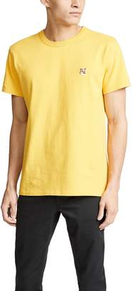 MAISON KITSUNÉ Fox Head Patch T-Shirt