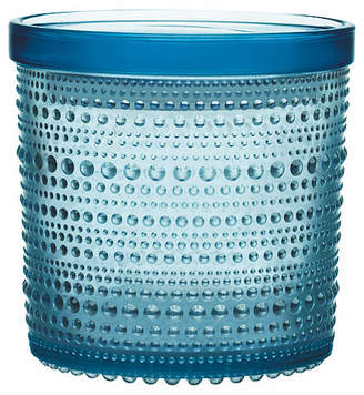 Iittala Kastehelmi Large Jar - Light Blue