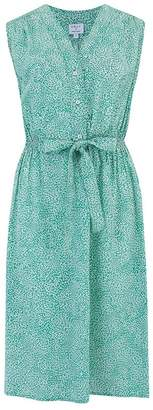 Trilogy Pippa Sleeveless Dress in Green Seedburst