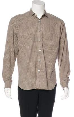 Billy Reid Check Woven Shirt